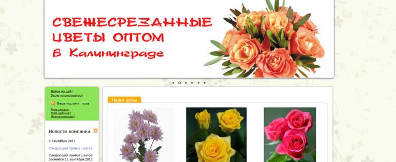 Цветы оптом в Калининграде